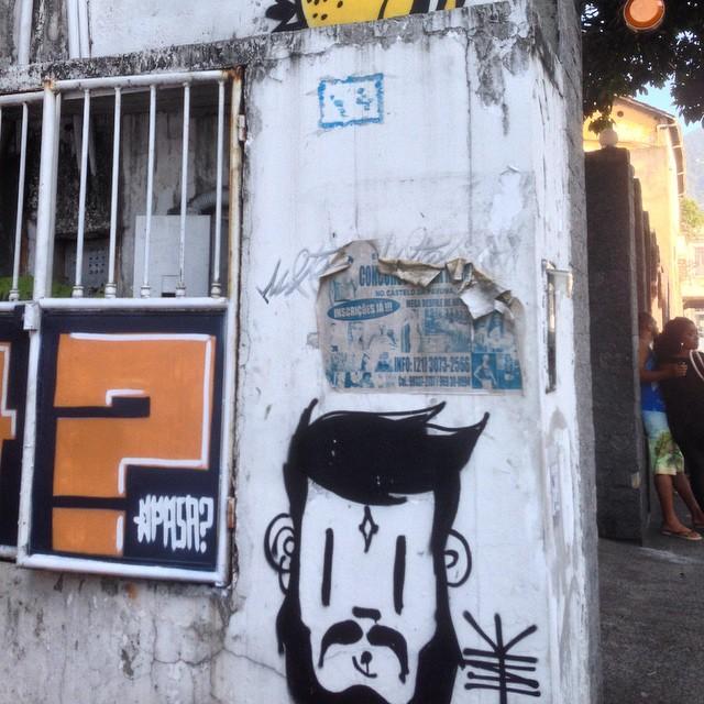 #graffiti #qpasa #streetart #streetartrio #urbanart #nofilter #tijuca #riodejanerio #brazil