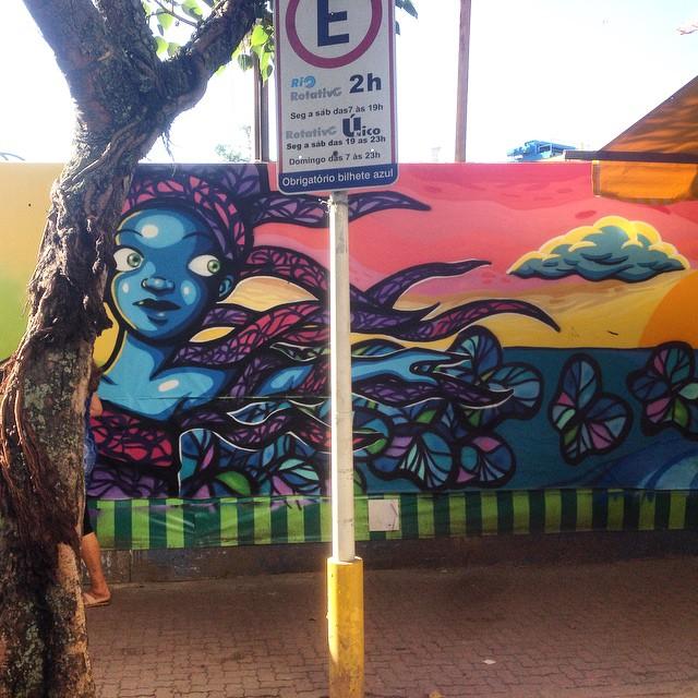 #graffiti #streetart #streetartrio #urbanart #nofilter #ipanema #riodejanerio #brazil