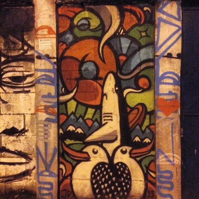 #graffiti #streetart #streetartrio #urbanart #nofilter #urca #riodejanerio #brazil