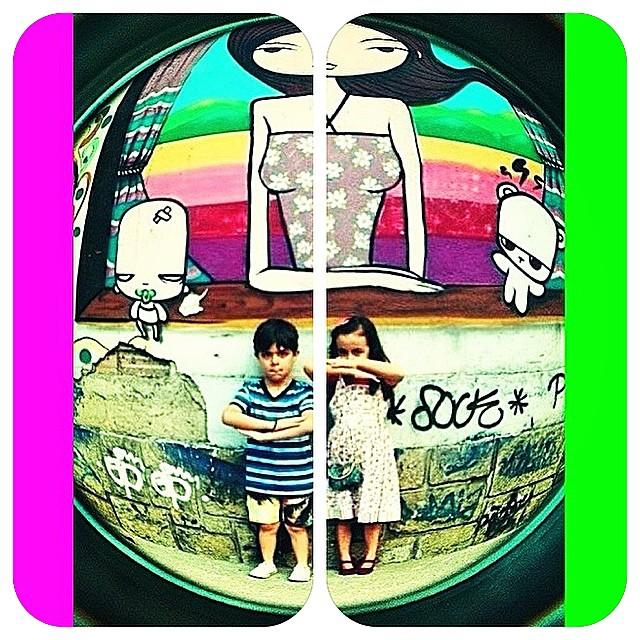 #kids @tozfbc #streetartrio #streetart #photo @marygirlstyle @sockppxi #graffiti a