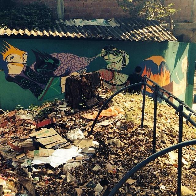 #nrvo #gmemi #guilhermemi #streetartrio #tropicalismo Vamo aeeee