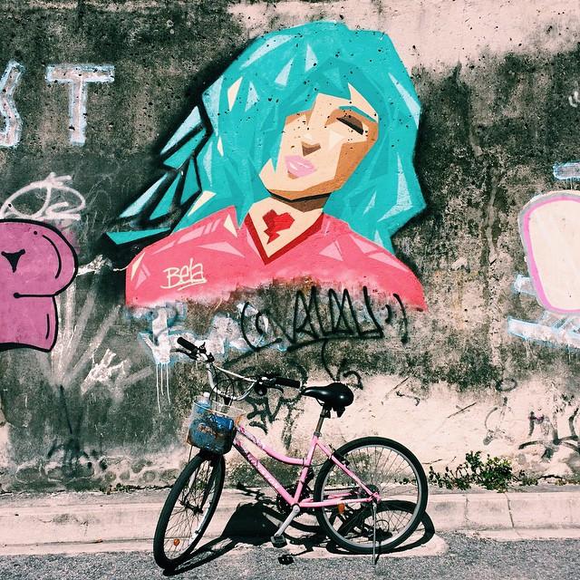 proud of you @bellasamaral #graffitilovers #graffitibrasil #streetartrio #bestfriend