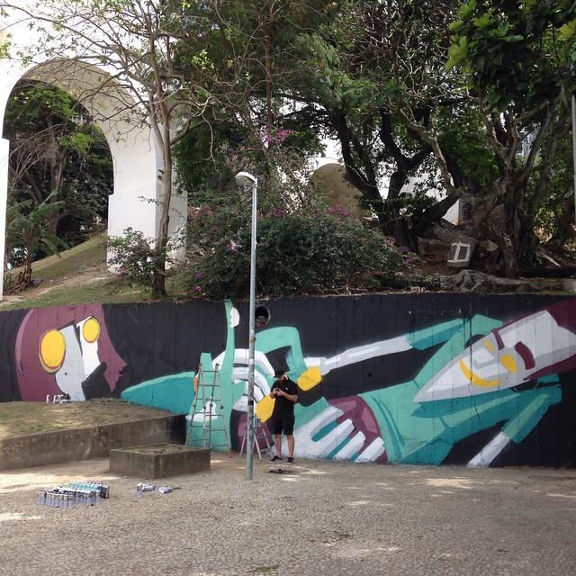#streetartrio La.p.a! Com o @marceloeco