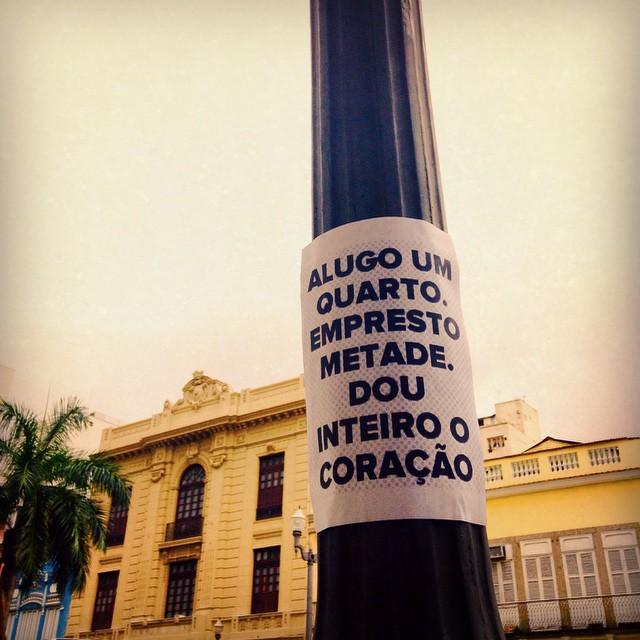 01 - #inteirocoração #riopostcard #rioetc #asruasfalam #olheosmuros #osmurosfalam #oqueasruasfalam #publicart #popart #poemaurbano