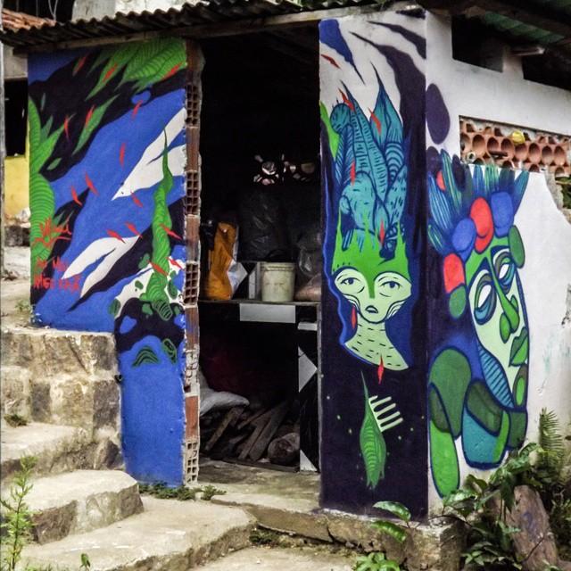 @gmemibr x Ururahy Maior Honrra poder pintar com esse mlk! #spray #ilhagrande #aventureiro #praiadoaventureiro #bigisland #graffiti #artevida #arteurbana #streetartrio #streetart #cubismo #cubism