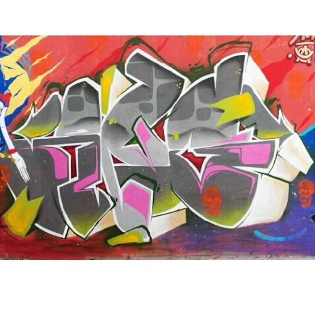Angkvk #kovokcrew #ruasdazn #streetartrio #graffiti