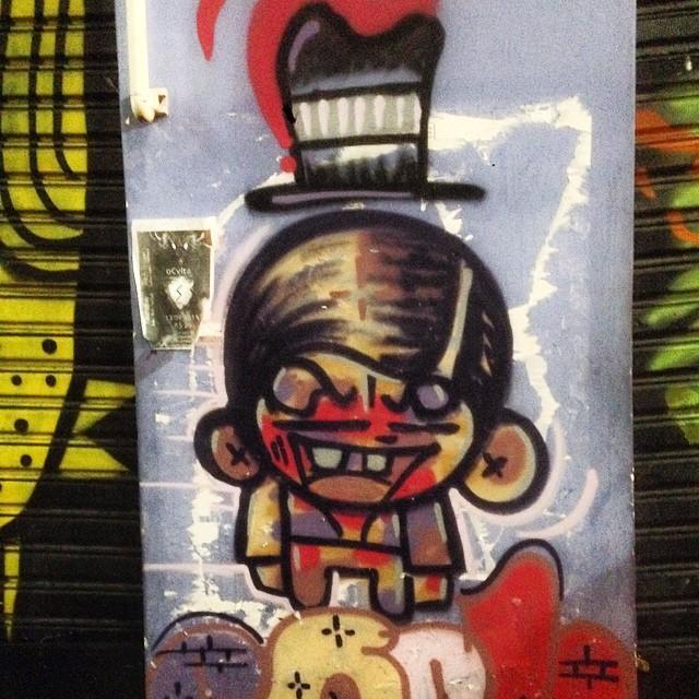 Art by #sock #graffiti #streetart #streetartrio #urbanart #nofilter #lapa #riodejanerio #brazil