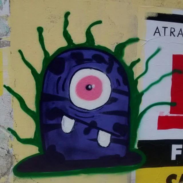 #Bomb #ASF #Galerio # #streetartrio #Vandalismoocacete #Instagrafite