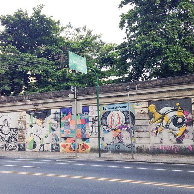 Clássicos da Arte de Rua perdidos... foto de @ArteRuaRio | #ArteRuaRio