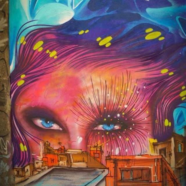 Com @grupoopni pintando no #RioDeJaneiro #streetartrio em homenagem ao dia da Consciência Negra