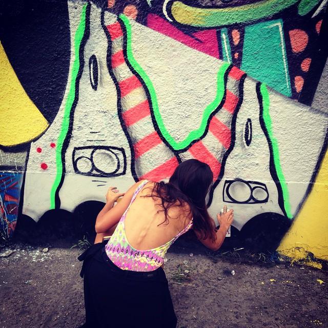 Com @tanzico @galeriaaceuaberto #graffiti #old #graffitiart #graffitirio #graffitiart #streetart #streetartrio #mga #meetingoffavela #riodejaneiro