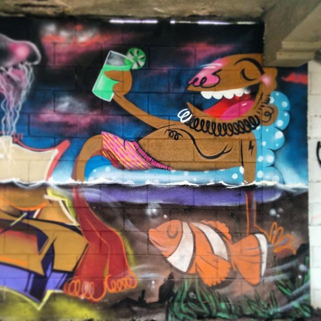 De boa na lagoa com meus parças. #relax #graffiti #streetartrio #zoteam