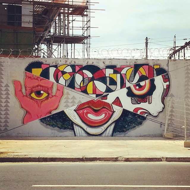 Dividir multiplica ... #naviu #coletivo #streetartrio #streetart