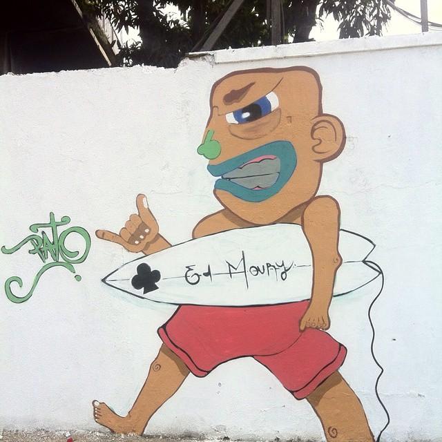Go surf! #ruasdazn #pato #streetartrio #rjvandal #arturbana
