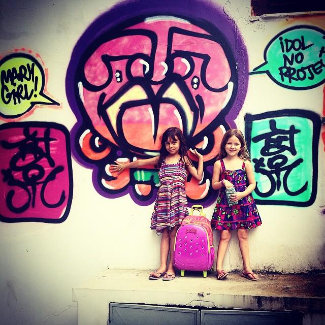 Hj temos mais uma na crew!Ninas  & Djone  #mm #liderdacrew #ninabailarina #nina #djonereal #styling #marygirl #graffiti #jb #belmonte #artcollective @idolnoproject