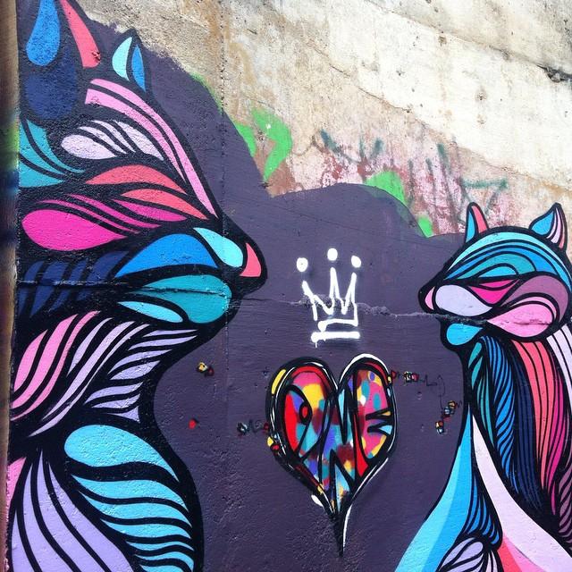 Ment e Big #graffiti #vidigal #streetartrio #riodejaneiro