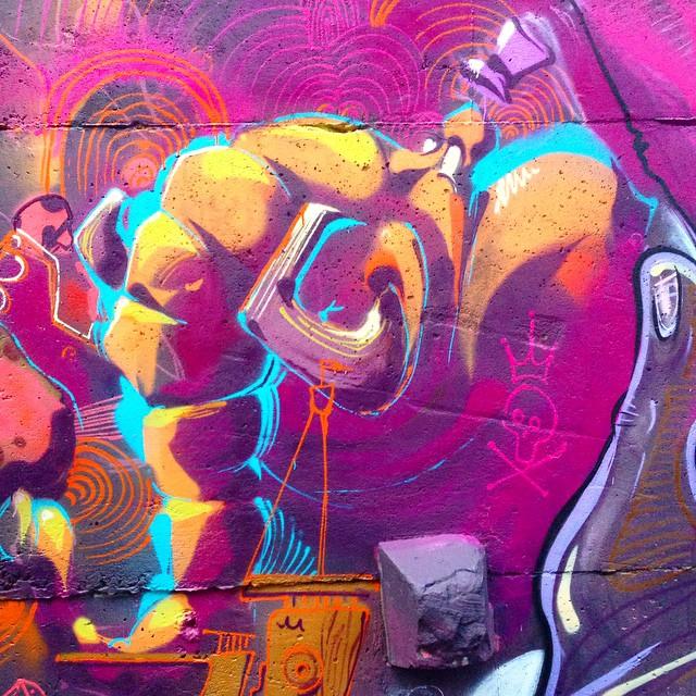 Meu irmãozinho @tarm1 quebrando como sempre!  #graffiti #streetartrio #tarm #thiagotarm #vidigal #morrodovidigal #carioca #riodejaneiro #rio #rj
