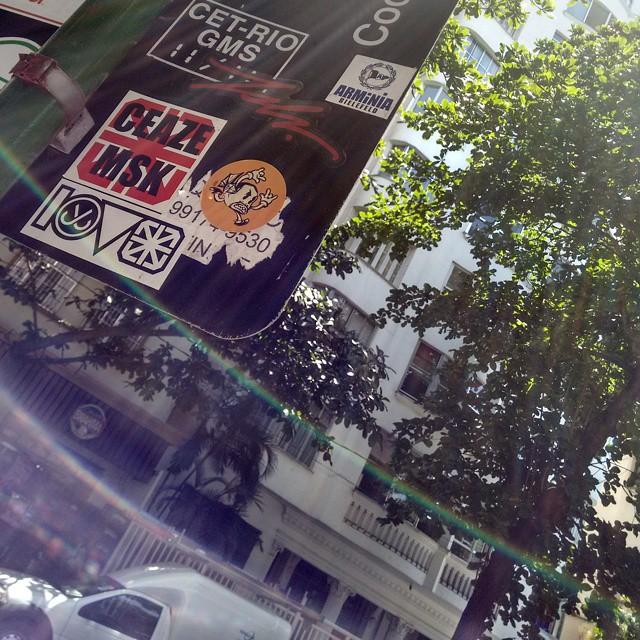 #Mlkpiranha #StreetArtRio #Stickers