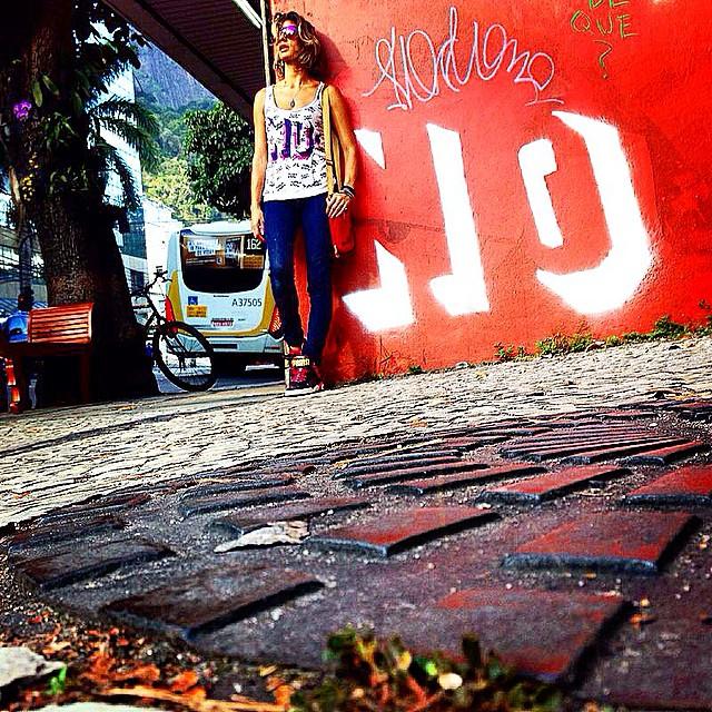 NO! #styling #marygirl #artcollective @idolnoproject #jb #artederua #arteurbana #streetart #streetartrio