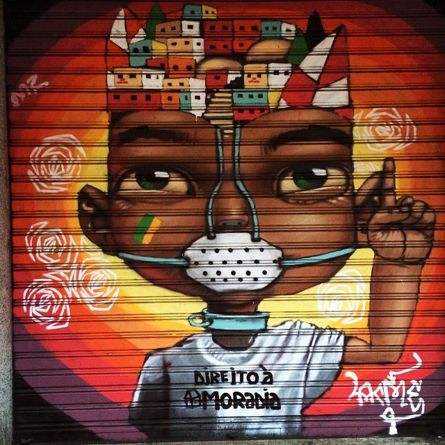 Posso falar? #grafite #grafiterj #streetartrio #streetart #olhosemuros #urbanart #arteurbana #moradia #direitos #expulsão #favela #morro #direitoscivis #civilrights