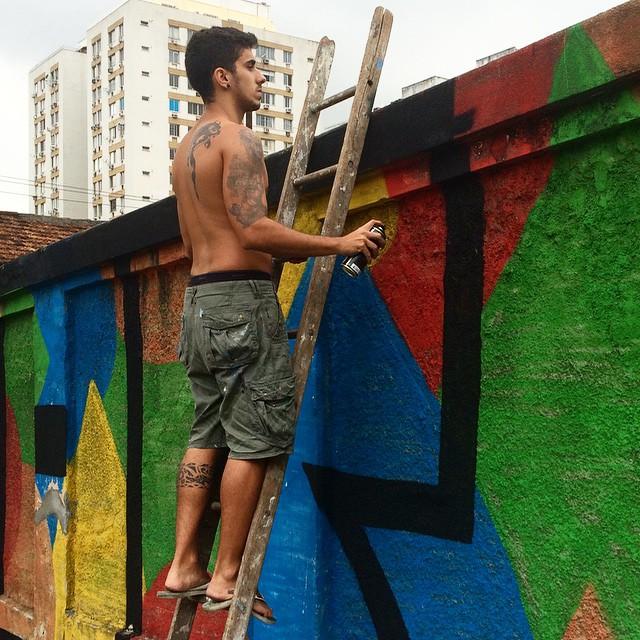 Renovando o colorido #dum #grajau