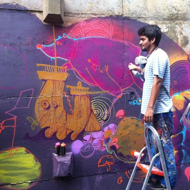 Tarm em casa! #graffiti #streetartrio #riodejaneiro #vidigal