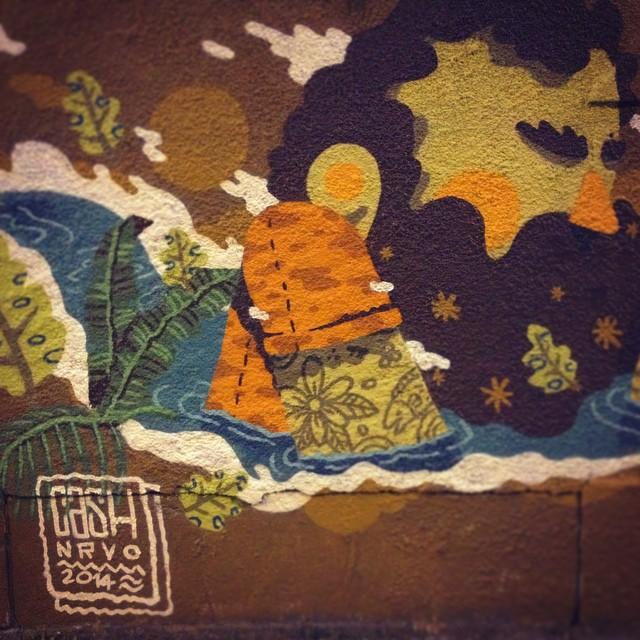Vila Isabel querida! #NRVO #vilaisabel #riodejaneiro #brasil #graffiti #graffititropical #tropical #fresh #colors #carvas #viniciuscarvas #streetartrio