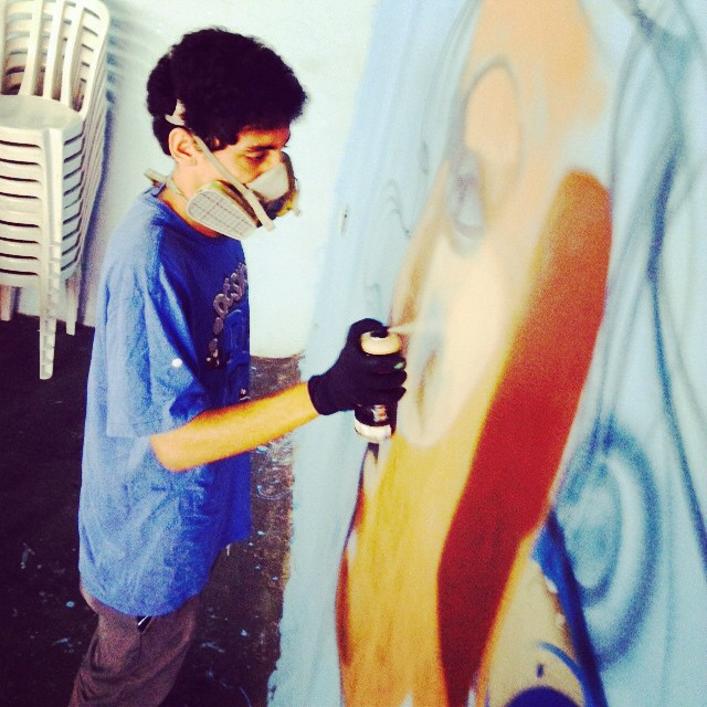 Yooo, #graffrj #luk #gut #jahbless #streetartrio