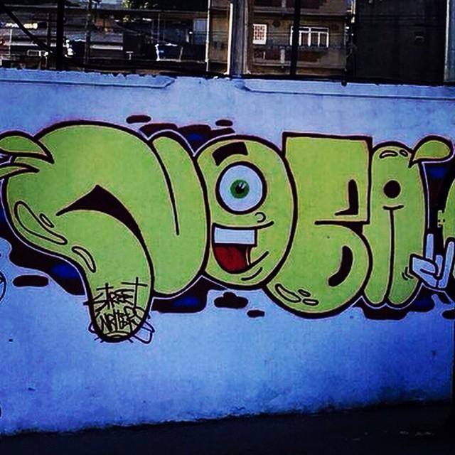 #artistasurbanoscrew #streetartrio #rjvandal #tagsandthrows #throwup #ruasdazn #zonanorteetc #znrules #bombing #ilovebombing #oldschool #streetart #worldgraffiti #writers #graffitioverdose #graffitiwriters #streetwriters #colors #spraypaint #nobã #avbrasil #zonanorte #aucrew #meusroles #lazer #urbanart 2014