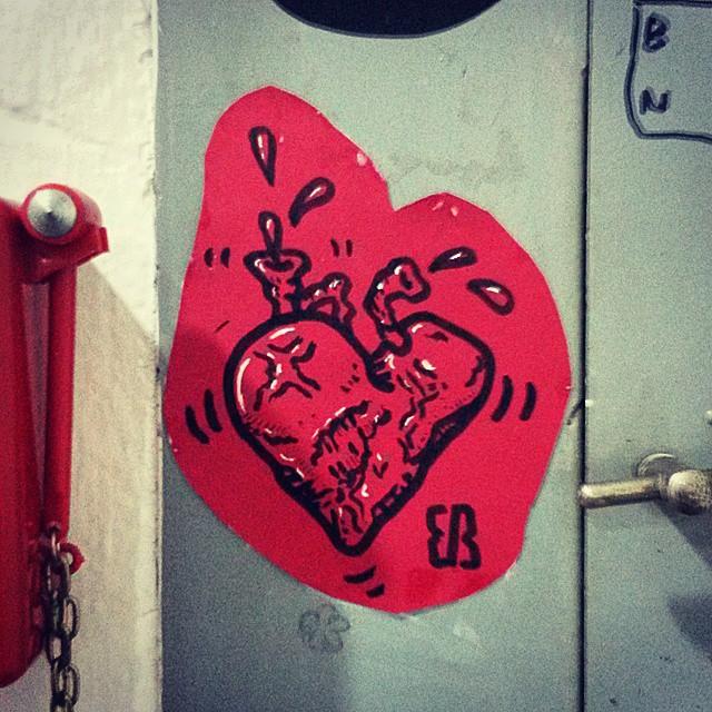 coração pulsante #patodebanheira #gregario #sticker