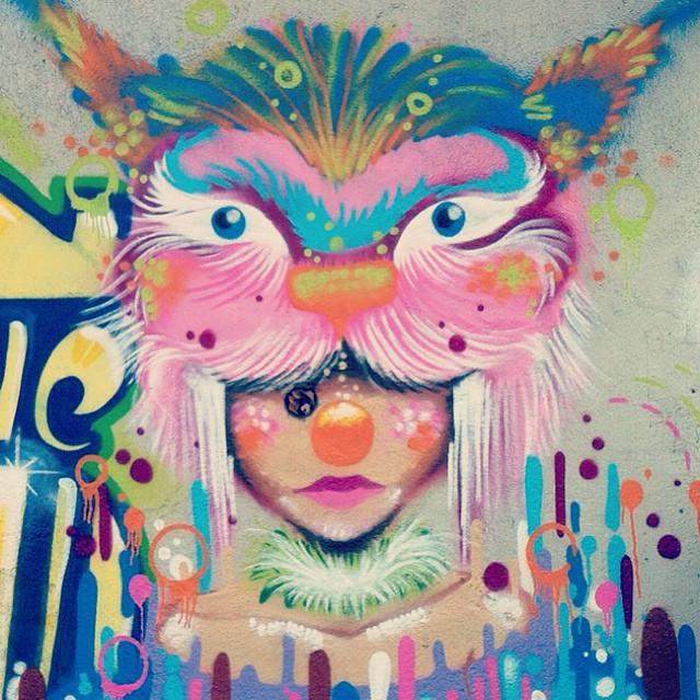 #detail #spam #viniciusspam #circus #lince #lineart #iloveclowns #instaart #instagraffiti #graffitart #graffitirj #artrj #artrio #worldart #whiter #collors #ink #streetart #streetartrio #spray #spraypaint #persona #paint #painting #gravitation #2014