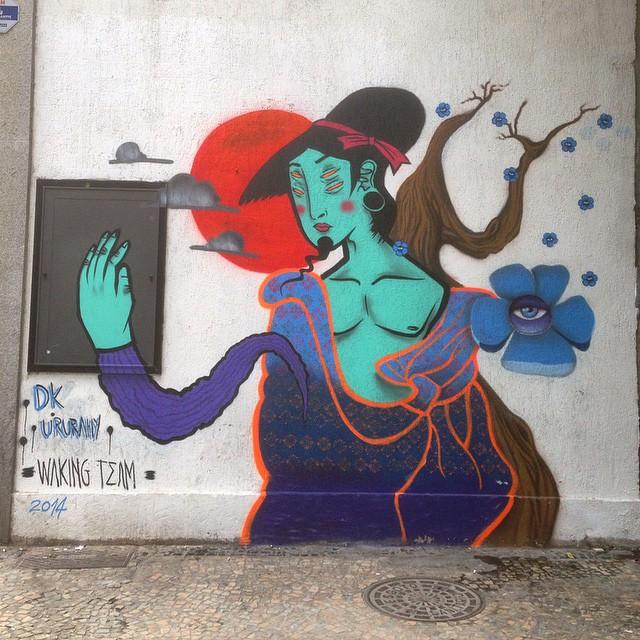 #dkururahy #wakingteam #graffiti #streetart #streetartrio #urbanart #globalpainters #nofilter #centro #riodejanerio #brazil