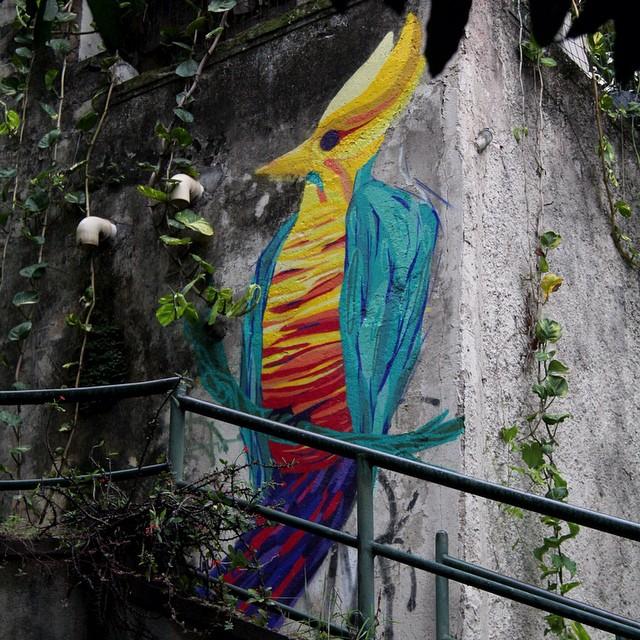 .. e no caminho da escola.. #streetartrio #urca #nicolaumello