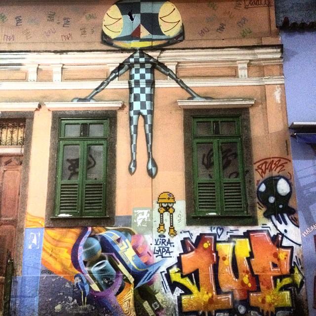 #graffiti #streetart #streetartrio #urbanart #nofilter #lapa #riodejanerio #brazil