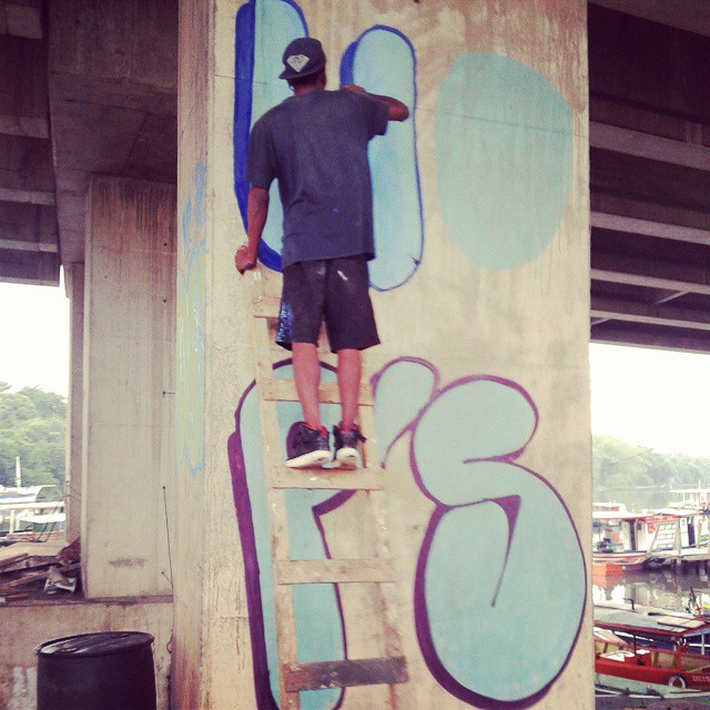 #rjvandal #rj #Reacãocrew #streetart #graffiti #instagraffiti #streetartrio #vandals #ruasdazn
