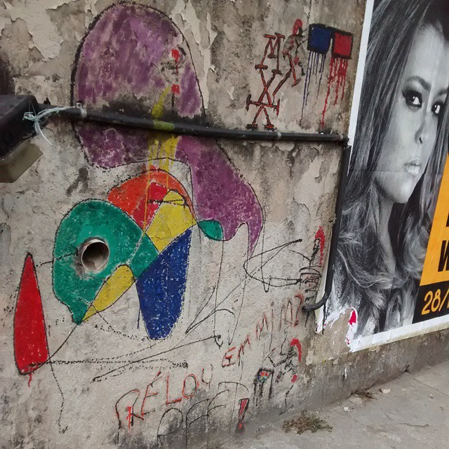 #streetartrio gávea terminal do onibus do metrô