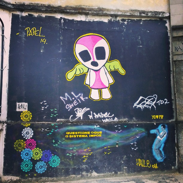 #streetartrio #grafite #morrodaprovidencia