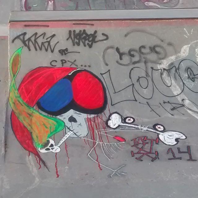 #streetartrio - pista skate do pontal - recreio