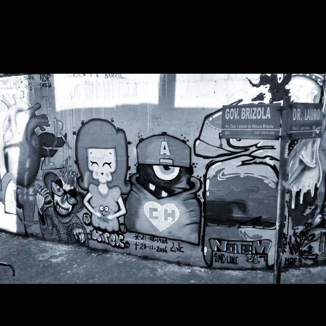 Black and White!!!! Pré MOF 9 #ASF #Galerio #Instagrafite #Graffit #streetartrio #UniaoNacionalCrew #UNC