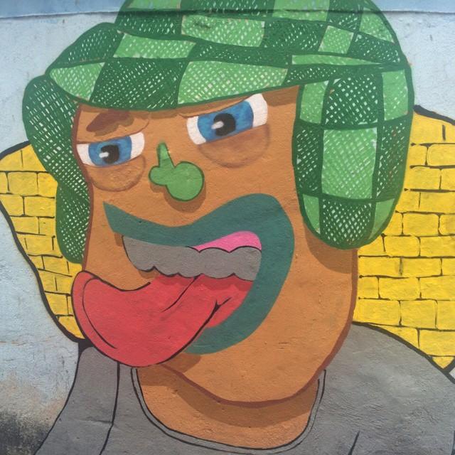 Ele morreu e deixou seu chapéu na minha responsa! #ruasdazn. #streetartrio. #rjvandal. #galeriaaceuaberto #pato #arturbana #art #graffitiart #graffitioverdose #graffiti