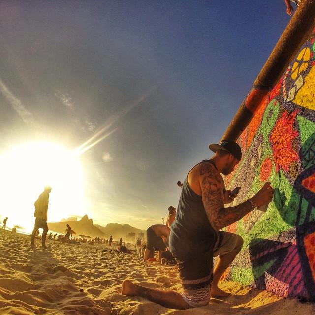 PMA all DAY!!! Praia do Arpoador, Rio de Janeiro - Brasil