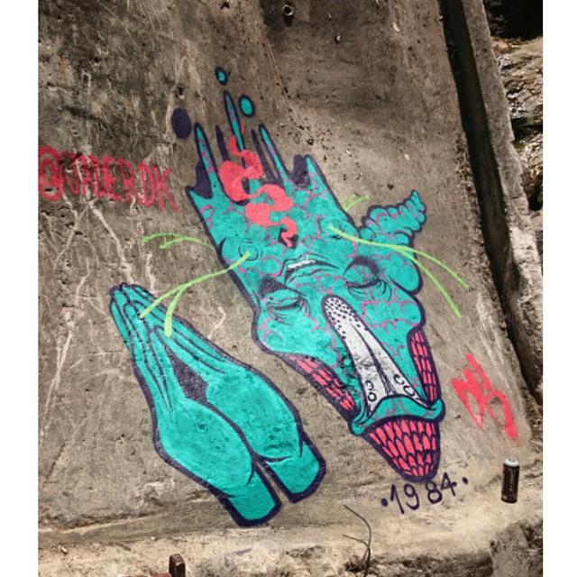#vidigal 2014, UPP #Dk #arte #artedodia #art #artsy #grafitti #urbanart #urbano #rua #arteurbana #spray #streetartrio #galeriaaceuaberto #surreal #surrealismo #abstrato #abstract #surrealism #imaginario #psicodelico #goodtrip #riodejaneiro #RJ