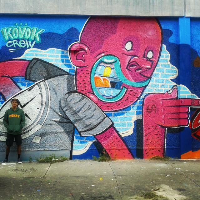 @brunolifekvk #kovokcrew #streetartrio #ruasdazn #wynwood #miami #artrua #urbanart #streetart #graffiti #lifekvk
