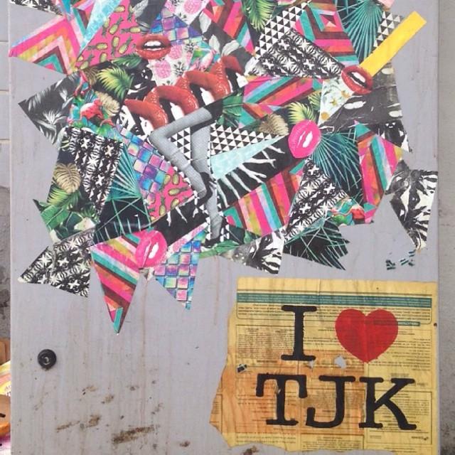 Amamos a Tijuca, inclusive a Rua Moraes e Silva #tjk #tijuquistão #tijuca #lambelambe #lambe #streetartrio #streetart #baba #artwork #sodacaustica