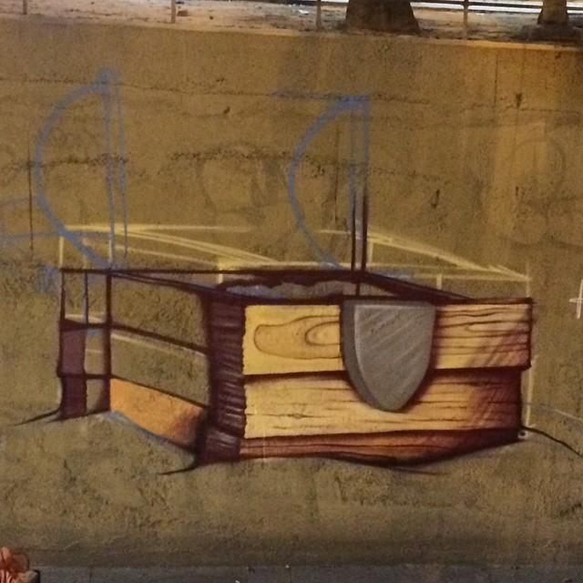Primeiro dia!!!!! #galerio #copacabana #tunelvelho #streetartrio #sarkgraff #streetart #tsss #galeriaurbana #tesouro #mergulhonotempo