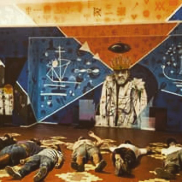 Rei, pintura feita no Hotel da loucura, REIginaldo x Arthur Bispo do Rozario. Bons dias com minha familia naviu @rbandeira23 @rozariorafael @garveyart @naviu #paint #graffiti #colagem #naviu #menega #artwork #artesemfronteiras #art