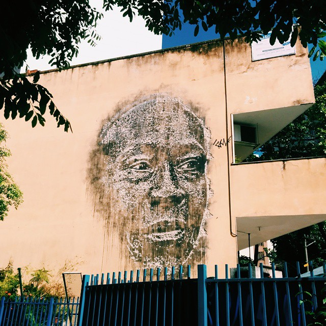 #StreetArtRio do @vhils