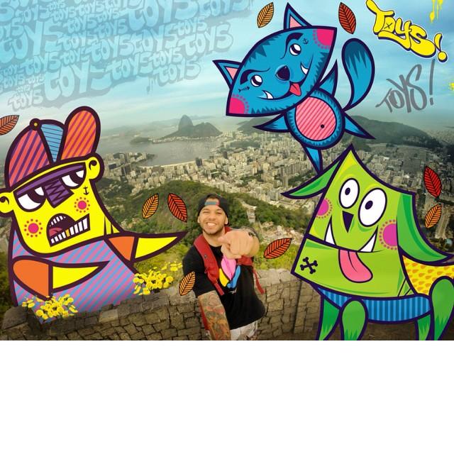 ToysLand Gang!!! De rolê no Rio de Janeiro!
