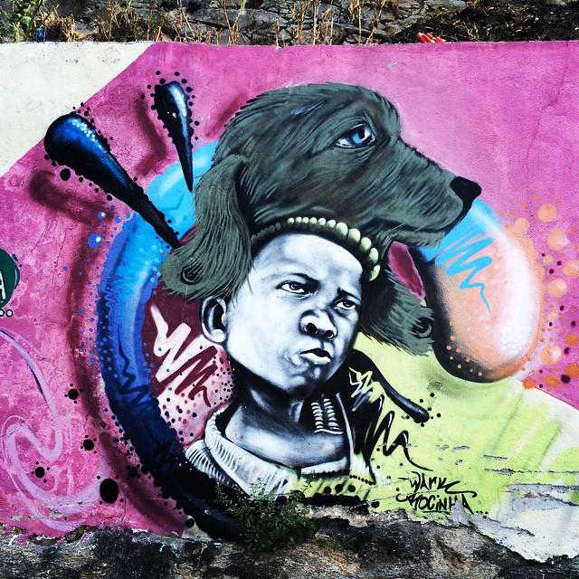Um @warkrocinha diferente pra mim #grafite #graffiti #streetartrio #streetart #urbanart #artederua #arteurbana @instagrafite @olheosmuros @galeriaaceuaberto