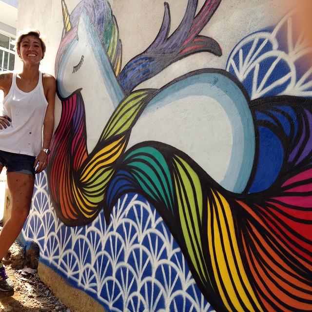#graffiti #grafite #urbanart #arteurbana #riodejaneiro #brasil #rafamon #cor #tinta #arte #art #graffitirio #graffitigirl #MuralsAndGirls